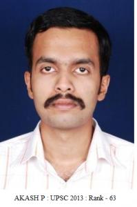Akash P - IAS Topper