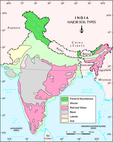 Soils of india classification and characteristics for Soil quality pdf