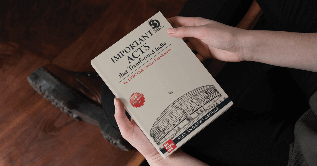 100 Must Know Acts Enacted by the Indian Parliament
