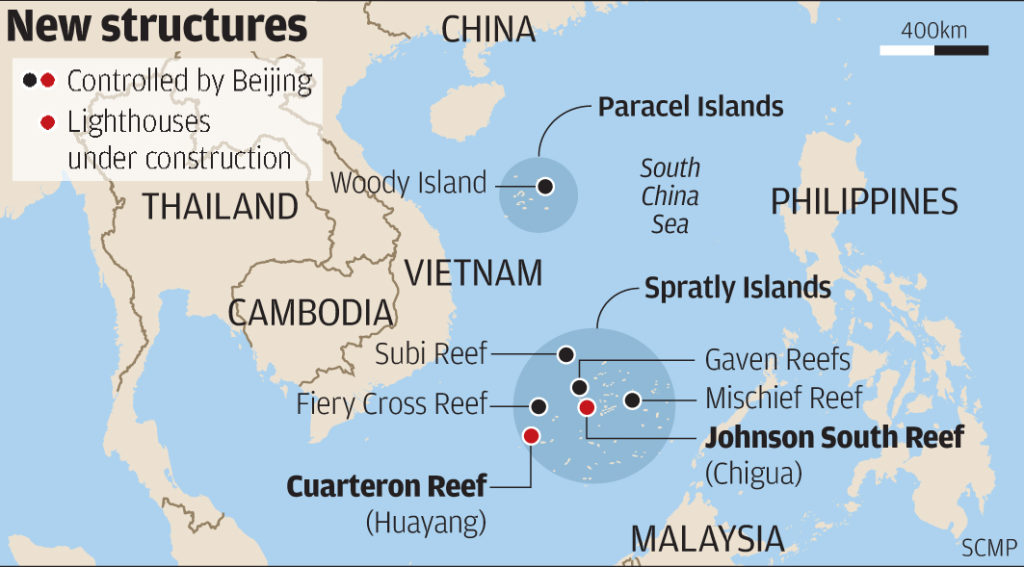 Artificial Islands in South China Sea
