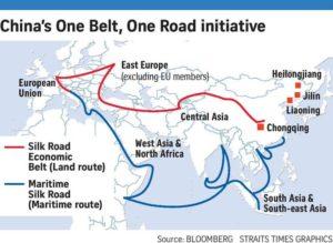 China's One Road One Belt (OBOR) Initiative