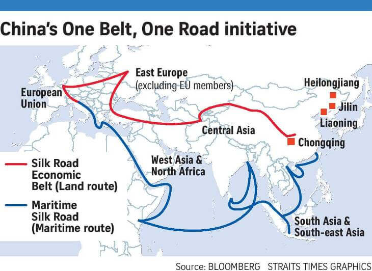 One Belt One Road (OBOR) by China – Should India Join It?