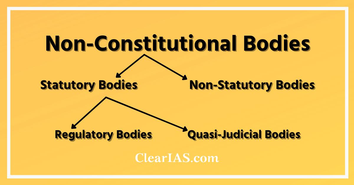 Classification of Non-Constitutional Bodies