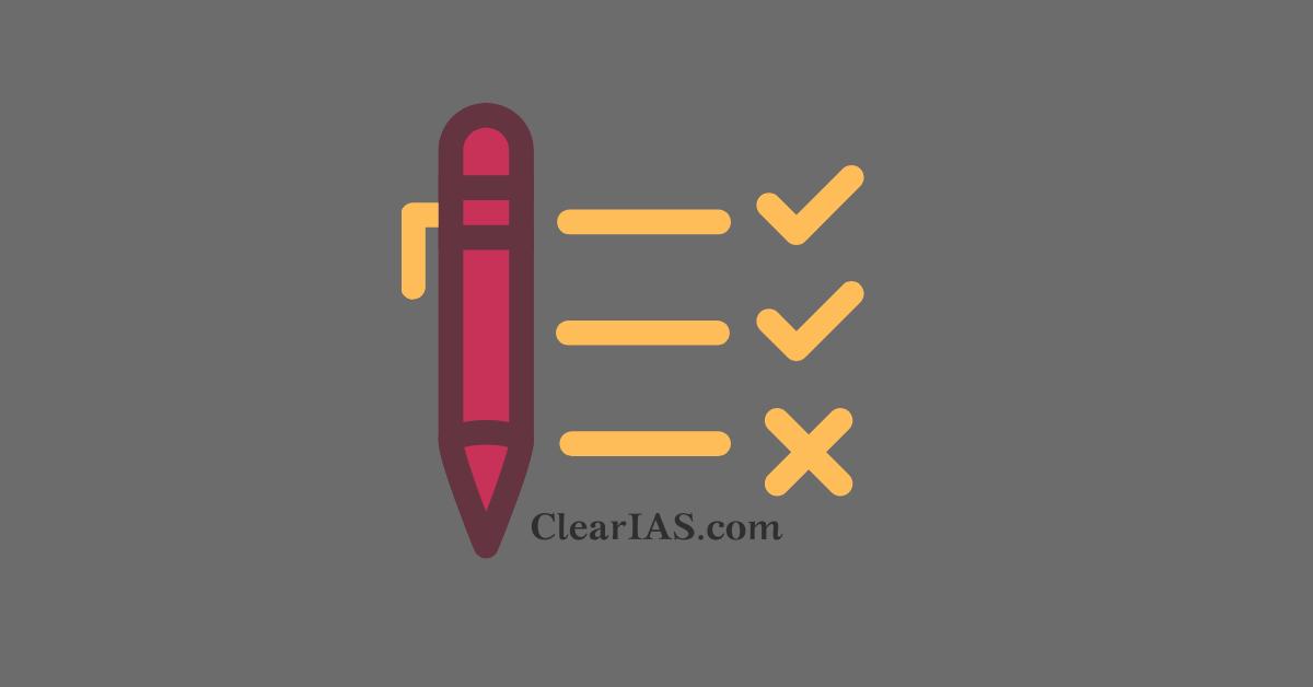 ClearIAS Answer Key UPSC CSE Prelims 2021