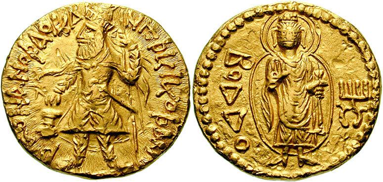 Coin of Kanishka I