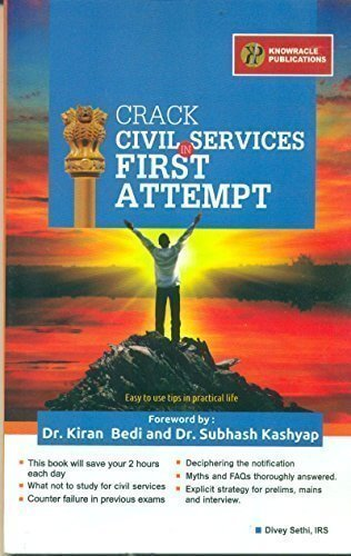 Crack Civil Services in First Attempt: Book Review
