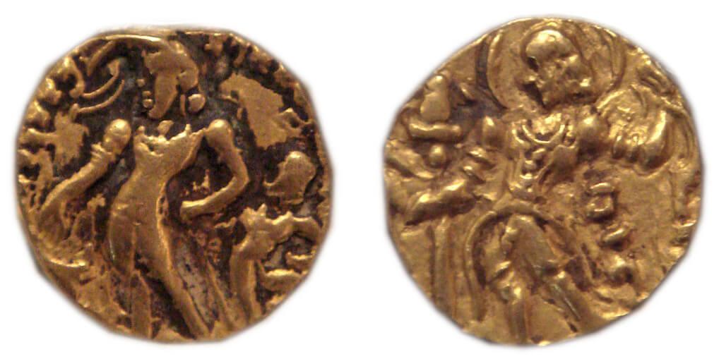 Gold coins of Chandragupta II