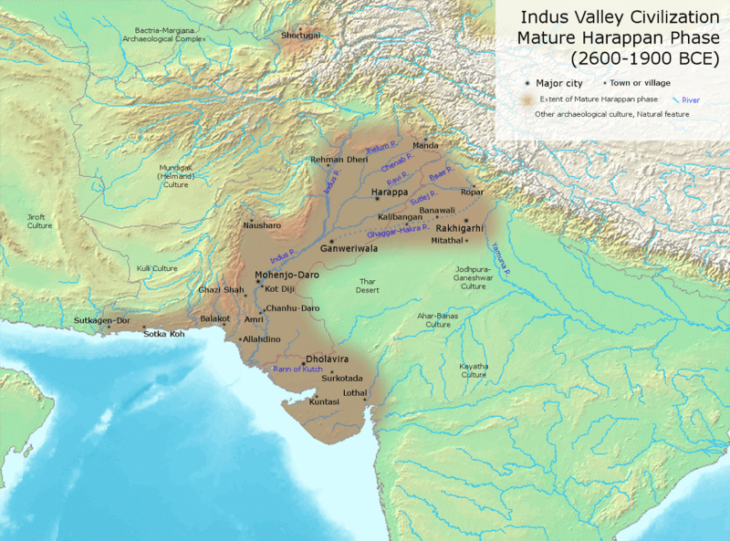 Important Indus Valley Sites and Archaeological Discoveries