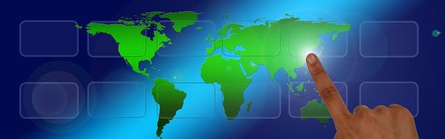 Korea on World Map