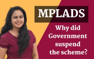 MPLADS: Member of Parliament Local Area Development Scheme