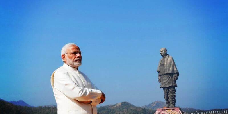 Narendra Modi and Sardar Patel