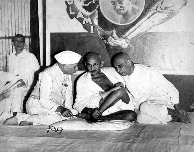 Nehru Gandhi Patel