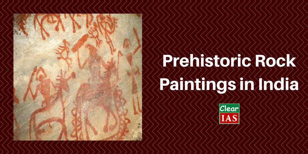 Prehistoric Era Art - Rock Paintings (Indian Culture Series - NCERT)