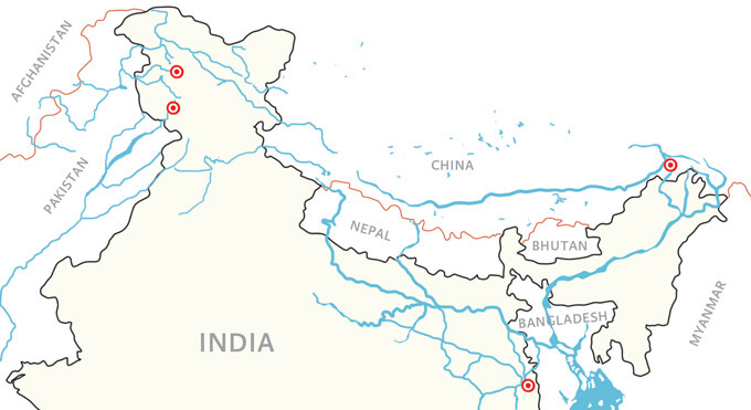 Rivers in North India