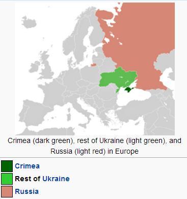 Russia Ukraine Map
