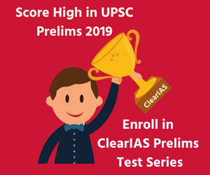ClearIAS Prelims Test Series 2019