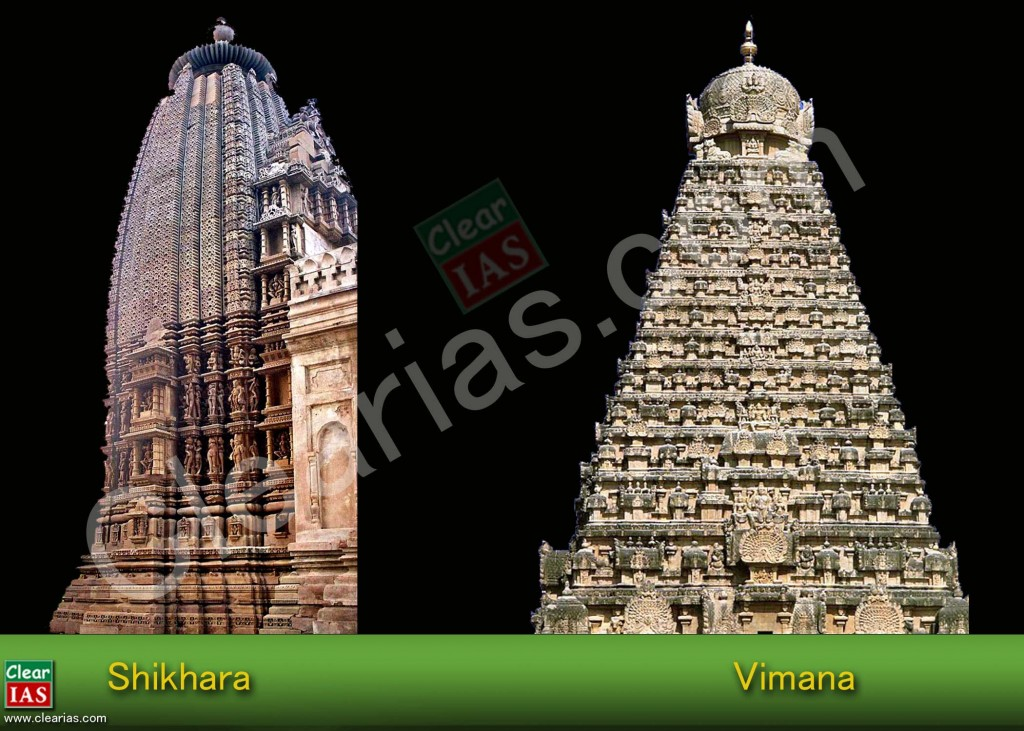 Shikhara and Vimana