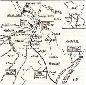 Sutlej-Yamuna Link Canal