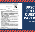 UPSC Question Paper 2018 – Download Civil Services Preliminary Exam 2018 General Studies Paper 1 Questions