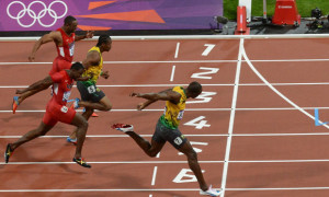 Usain Bolt: The best finisher
