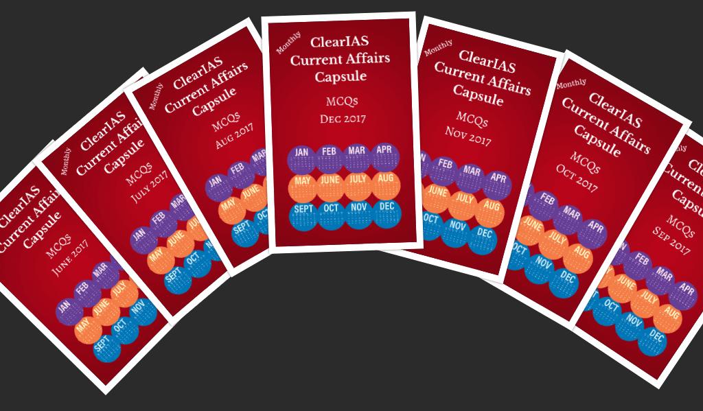 ClearIAS Current Affairs Capsules Ebook