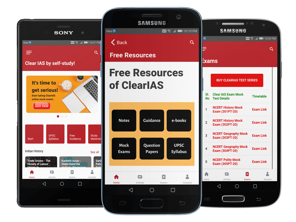 ClearIAS Learning App Preview
