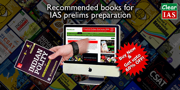 IAS books prelims - Click to buy IAS books for Prelims