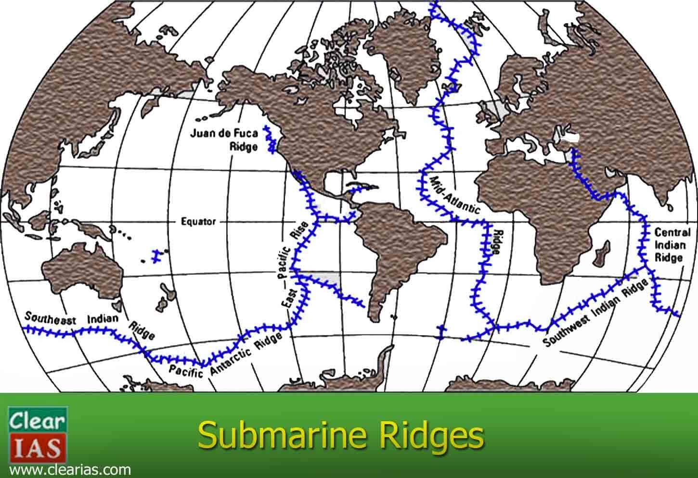 submarine ridges image
