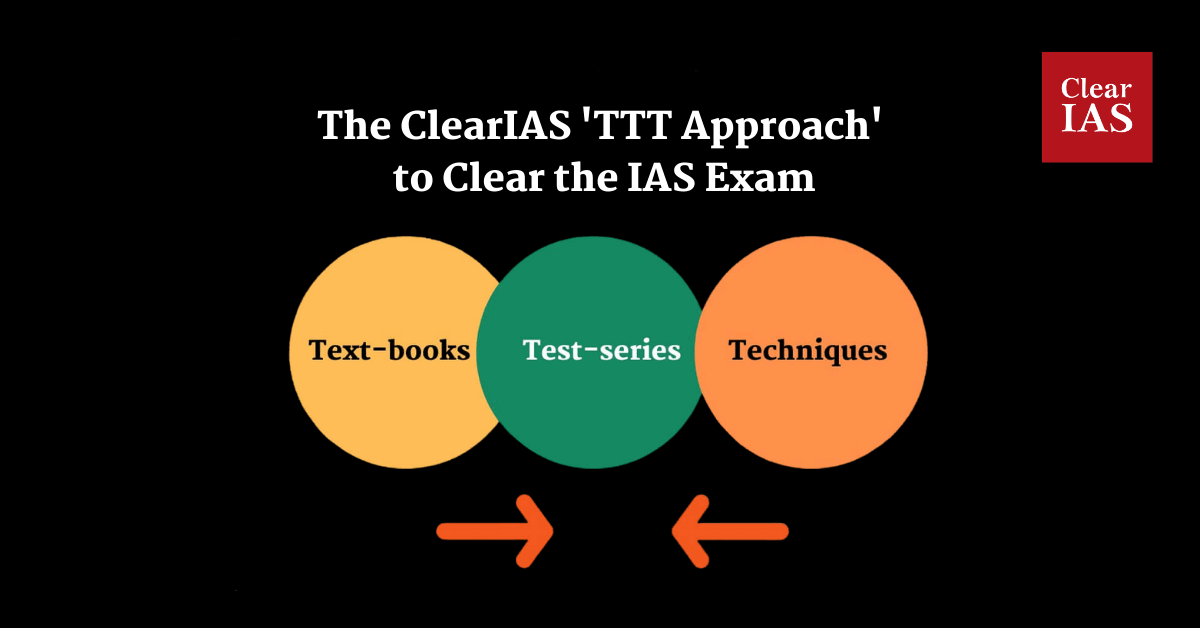 ClearIAS TTT Approach to clear UPSC Civil Services Examination