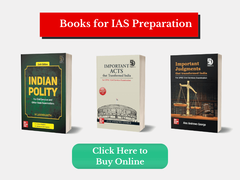 IAS Books (UPSC Exam Preparation Books)